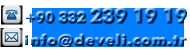 Phone: +90 332 239 19 19